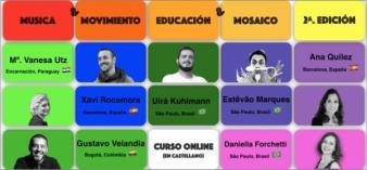Musica, Movimiento, Educación y  Mosaico - 2a. Edición