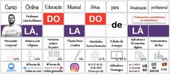 Lá, do lado de lá! - Curso Online para professores de Educação Musical